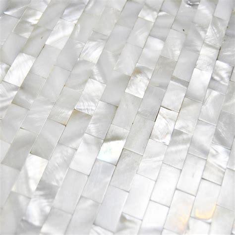 of pearl subway tile 2017 mosaic tiles subway brick of pearl tile