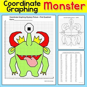 coordinate graphing ordered pairs mystery picture