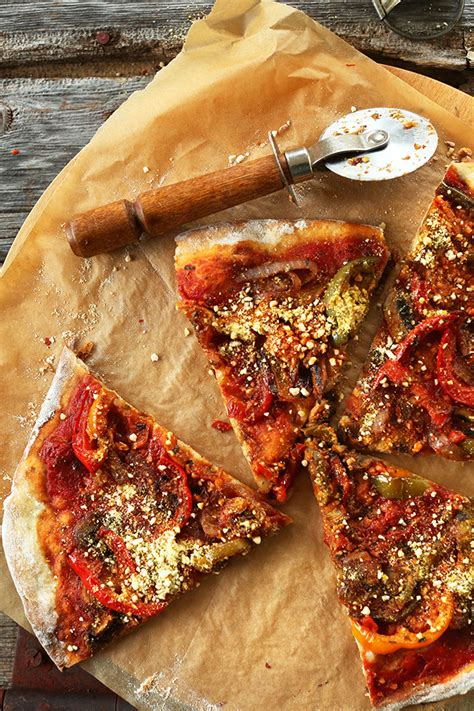 ultimate vegan pizza recipe   gluten  heaven