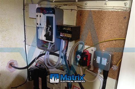 consumer unit replacement matrix electrical services