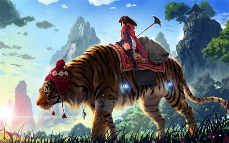 Amazing Anime Wallpaper - amazing tiger with anime hd wallpapers rocks