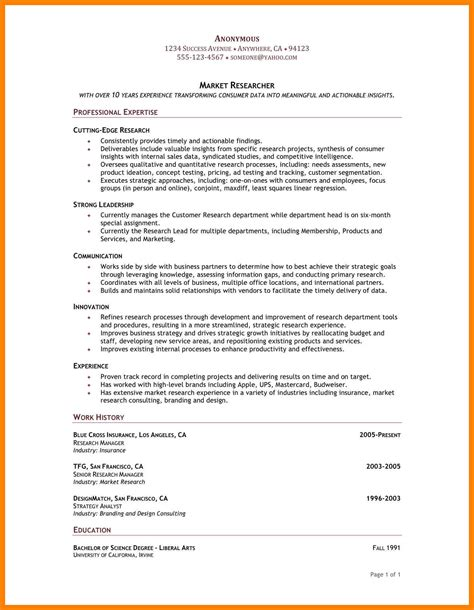 Chronological Resume Writing by 12 Resume Chronological Order Writing A Memo