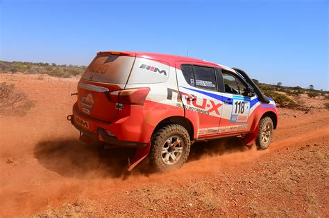 With the two rear rows of seats fully folding, there's a configuration for pretty much every scenario. Isuzu MU-X engineered in Sydney for Dakar Rally in 2015 ...