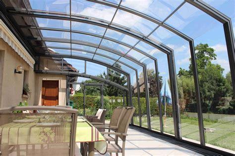 Abri De Terrasse Topaz à Pans Droits La Solar Véranda
