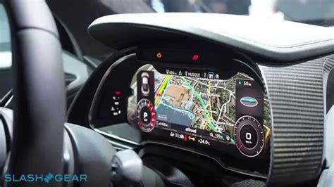 audi  virtual cockpit walkthrough youtube