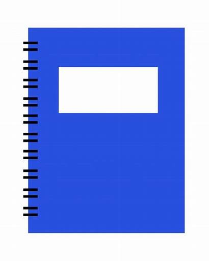Notebook Clipart Spiral Clip Planner Notepad Rectangle