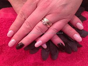 Eye Candy Nails & Training - Acrylic nails with pink and ...