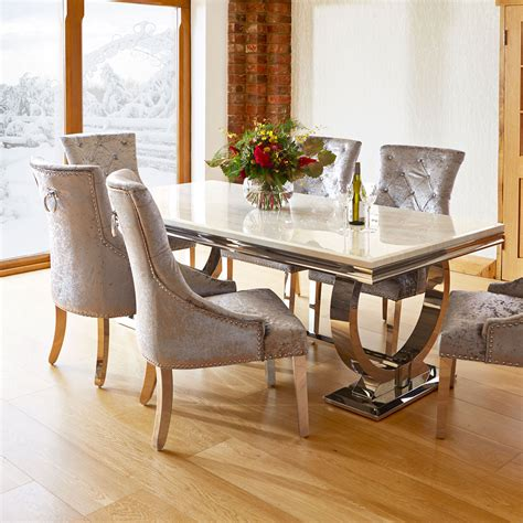 marble table top dining set  granite table top dining