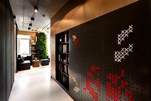 Integrated Green Wall at New Office of Yakusha Design