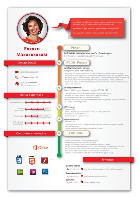 Creative Professional Resume Templates by Creative Professional Resume Design For Creative