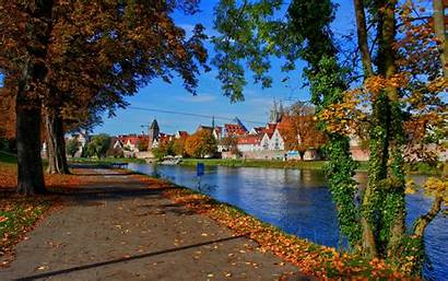 Town Wallpapers Autumn Fall
