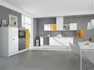 Couleur Cuisine Moderne : cuisine indogate cuisine rouge peinture mur couleur ~ Melissatoandfro.com Idées de Décoration