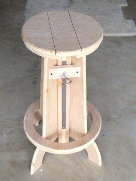 plans  build wood shop stool  plans