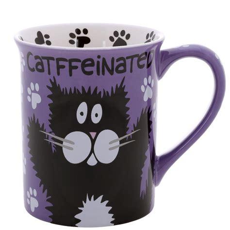 cat caffiene mug lol