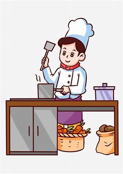 Chef Cooking Cook Cartoon Cocinero Cozinheiro Animados