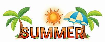 Word Summer Font Vector Illustration Graphics Clipart