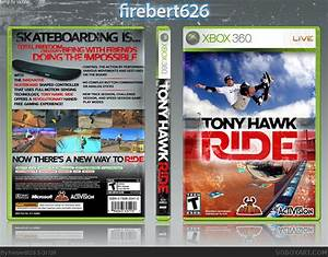 Tony Hawk Ride Xbox 360 Box Art Cover By Firebert626