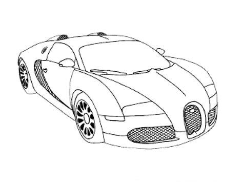 drawn car bugatti veyron pencil   color drawn car