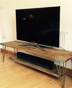 Table Tv But : 50 best ideas hairpin leg tv stands tv stand ideas ~ Teatrodelosmanantiales.com Idées de Décoration