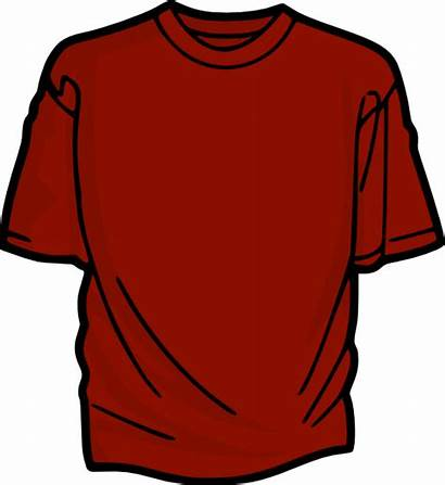 Shirt Clip Tee Drawing Clker Pink