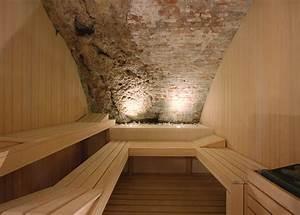 Realisations de saunas et bains turcs pour les spas et for Wonderful faire un sauna maison 2 sauna gym effegibi