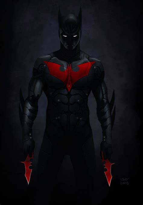 Batman Beyond Costume  All That Costumes Impressing