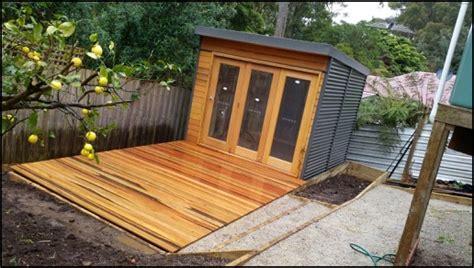Building A Studio In The Backyard by Garden Studios Melbourne Diy Backyard Studio Kits