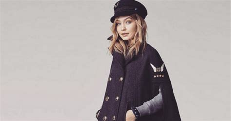 Gigi Hadid Partners Up With Tommy Hilfiger To Design And