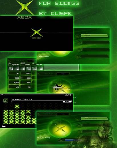 Xbox Dashboard Psp Themes