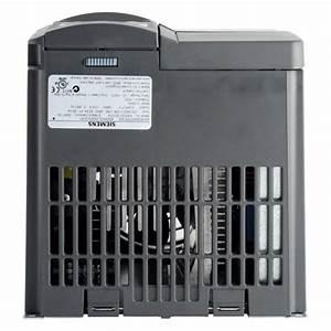 Siemens Micromaster 420 3kw 230v 1ph To 3ph Ac Inverter