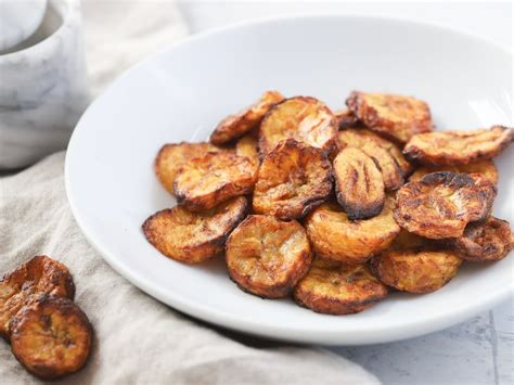 chips plantain fryer air recipe
