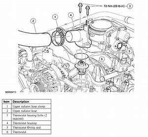 Do You Have Instructions For Replacing Thermostat On F150