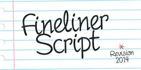Fineliner Script Font