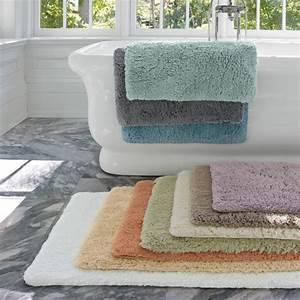 on vous presente le tapis de salle de bain en 45 images With tapis rond pour salle de bain
