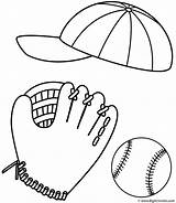 Coloring Baseball Balls Glove Ball Cap Stuff Softball Sport Drawing 86ef Printable Rugby Stadium Bigactivities Template Pich Fast Father Clipart sketch template