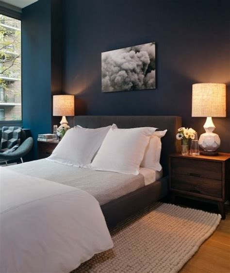 chambre en bleu quelle couleur pour une chambre à coucher le secret est ici