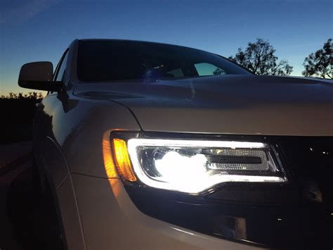 jeep headlights at night duke s drive 2015 jeep grand cherokee srt 4 4 chris duke