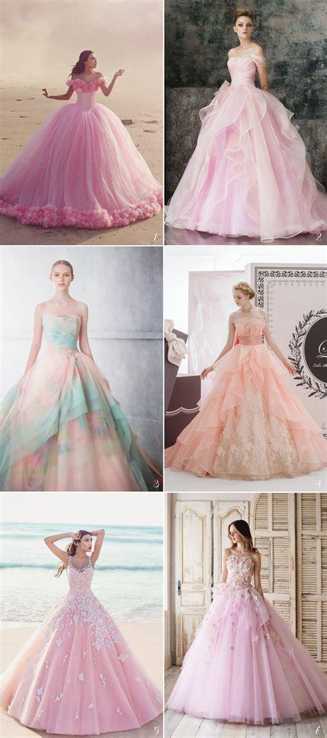 fairy tale wedding dresses  beautiful princess brides