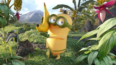 minions banana land  behance