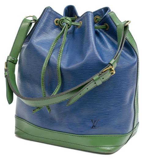 louis vuitton noe bicolor drawstring bucket bag fall luxury goods antiques  estates