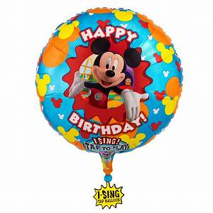 Mickey Mouse Clubhouse Birthday Wallpaper | Clipart Panda ...