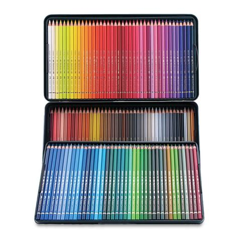 faber castell color pencils faber castell polychromos colored pencil set 120 assorted