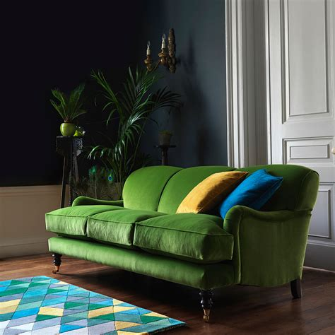 green settee velvet sofas our of best ideal home