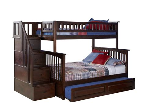 bunk beds 2050 10 columbia staircase bunk bed