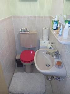Waschbecken Mit Ablage : wc mit sp lkasten waschbecken ablage komplett in ~ Lizthompson.info Haus und Dekorationen