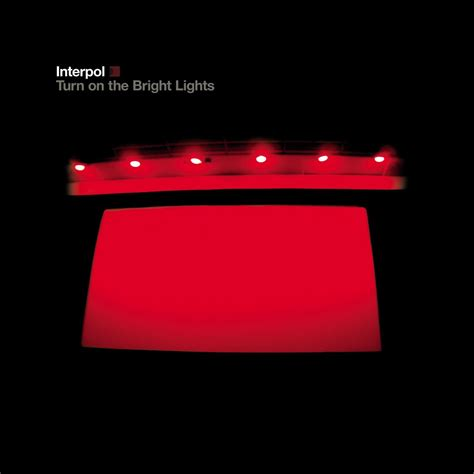 interpol turn on the bright lights poll best album cover interpol