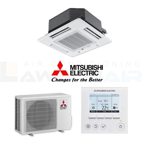 Mitsubishi Electric Air Conditioner Cost by Mitsubishi Electric 4 2kw Slz Ka50vaq 4 Way Cassette Air