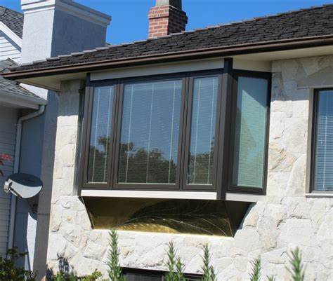 contemporary bay windows bay window replacement after modern exterior vancouver by window craft sales inc