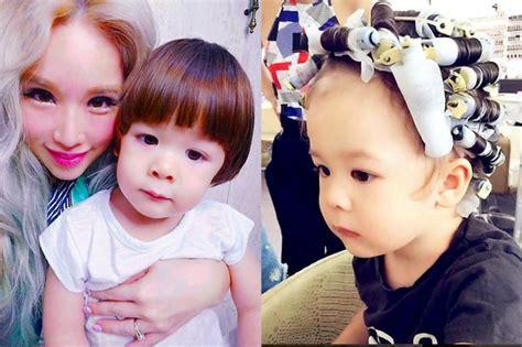 blogger xiaxue  stir  toddler sons hair perm