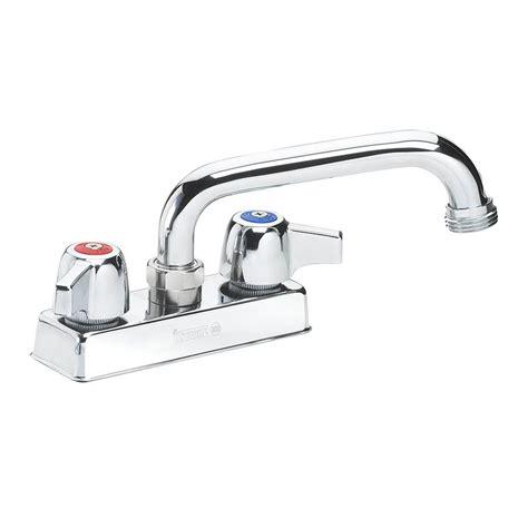 utility sink faucet hose attachment krowne 11 450l deck mount laundry faucet 6 quot swing spout